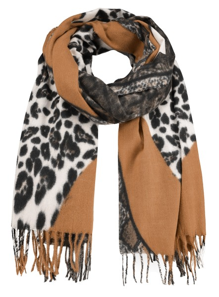 WA SAVAGE scarf / 5 brown