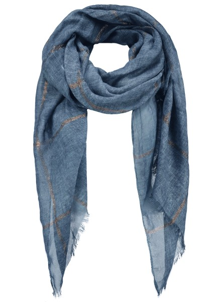 WA MATCH scarf / 4 blue