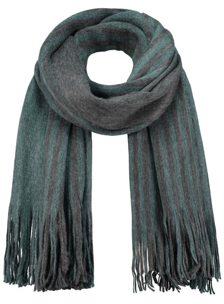 MA DENMARK scarf /4 anthra-green