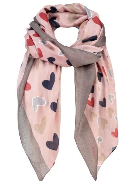 WA KISS scarf / 4 rosa