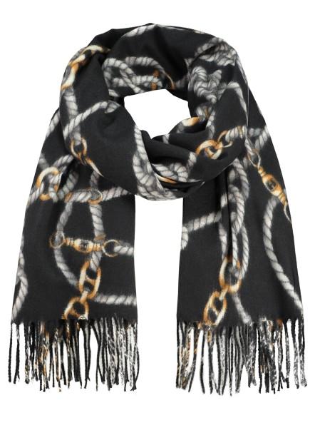 WA CORD scarf / 5 black