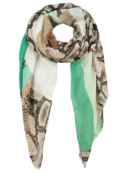 WA POISON scarf / 4 green