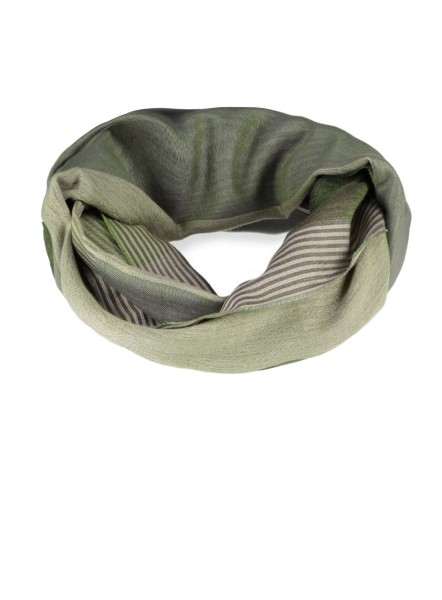 MA DOVER stripe loop /6 green