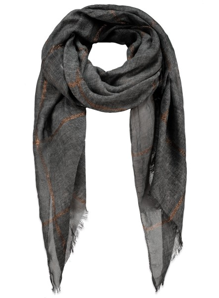 WA MATCH scarf / 4 anthra