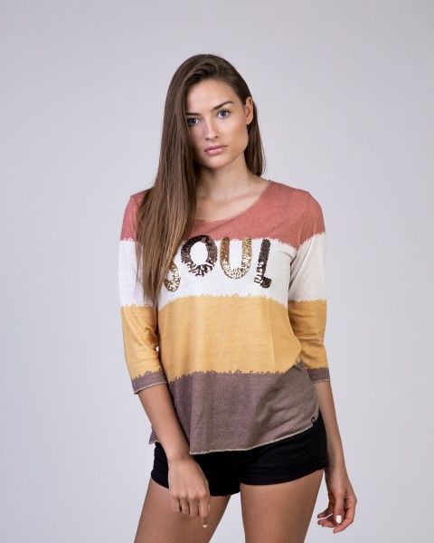 WLS SOUL round red-yellow