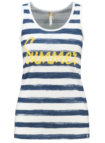 WT TOP SUMMER round navy