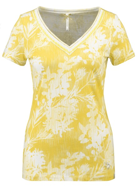 WT HOME v-neck yellow