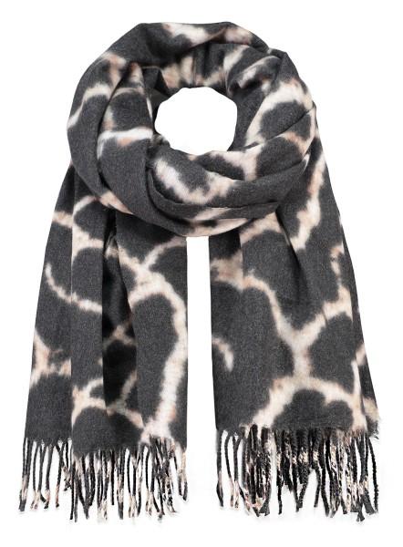 WA GIRAFFE scarf / 3 black